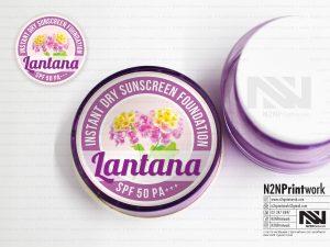 สติ๊กเกอร์โลโก้ Lantana