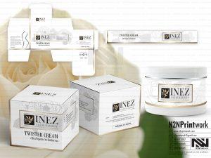 ออกแบบฉลากสินค้า ออกแบบกล่อง INEZ